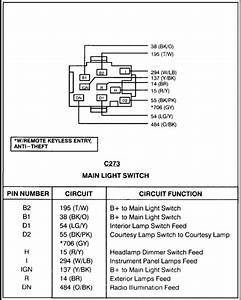 2000 Mustang Headlight Switch Wiring Diagram   Download