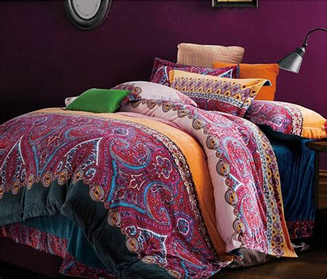 Bohemian Coverlet by Boho Chic Bedding Sets With More Ease Bedding With Style