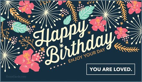 Free Happy Birthday  Enjoy Your Day Ecard  Email Free