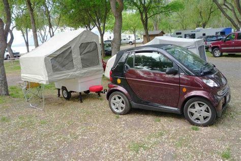 Smart Car Camping With A Mini Mate Camper