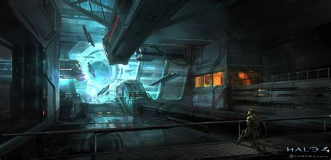 Halo 4 Concept Art By Goran Bukvic Concept Art World