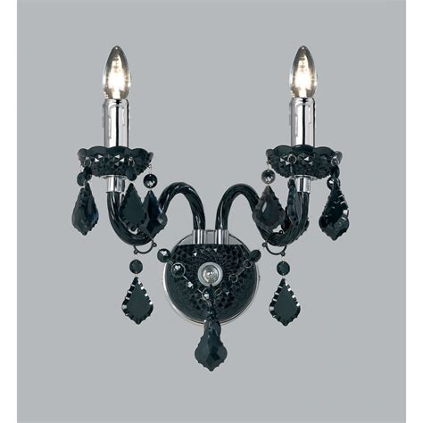 308 2bl wall light black