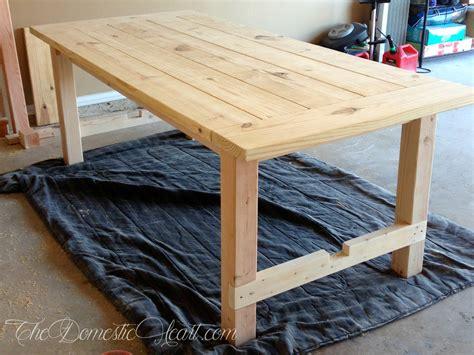 diy wood projects diy farmhouse dining table my woodworking project Diy Wood Projects
