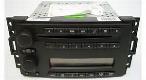 2005-2007 Chevrolet Uplander Factory Am  Fm Cd Player Radio