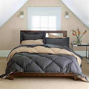 Gray, And, Taupe, Bed