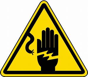 Electrical Shock Warning Label J6533 - by SafetySign.com