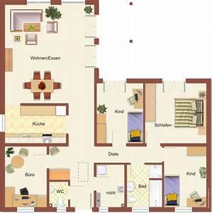Grundrisse Für Bungalows 4 Zimmer : haus bungalows winkelbungalows hausbau24 ~ Sanjose-hotels-ca.com Haus und Dekorationen