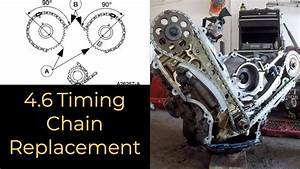 Ford 4 6 Sohc Timing Chain Replacement - Out Of Vehicle