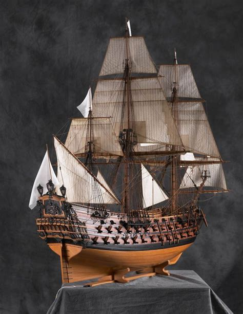 le ambiteux museum quality ship model