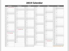 Best Of Free Printable Year Planner 2019 Printable Forms