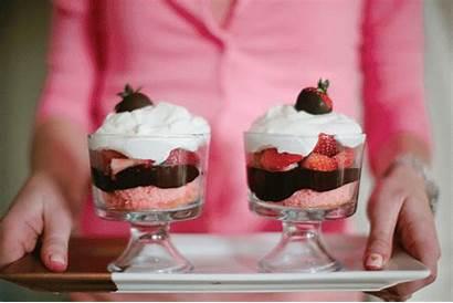 Chocolate Dessert Trifle Valentine Recipe Cake Animated
