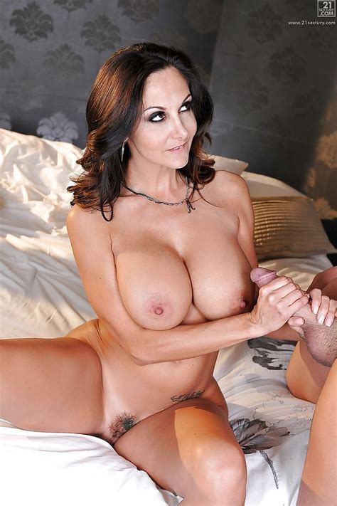Busty Brunette Cougar Ava Addams Bends Over For Doggystyle