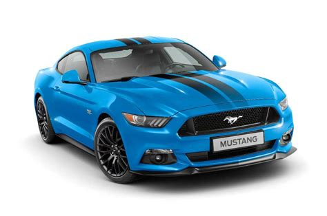 Ford Mustang Black Shadow And Blue Edition Launched For