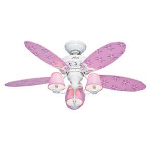 shop dreamland 44 in white and pink downrod or mount indoor ceiling fan with light