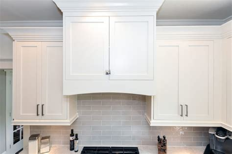 crown moulding ideas for kitchen cabinets inset shaker style doors with cove crown and light