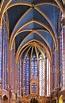 Sainte-Chapelle, Paris, circa 1248 King Louis IX built ...