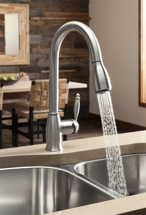 new kitchen faucets blanco makes a splash with new water saving kitchen faucet