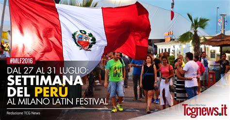 inizia la settimana del peru al milano latin festival