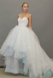 lazaro fall 2012 strapless blue ball gown wedding With lazaro sparkly beaded wedding dress