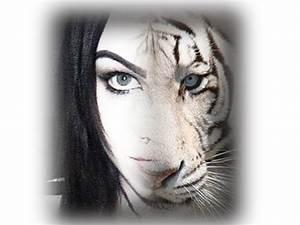 Half Human Half Tiger Face