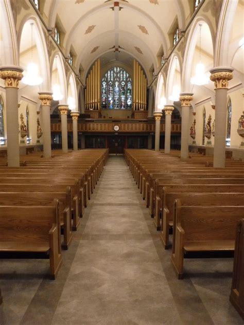 Church Tile & Marble Floors   Artech Church Interiors