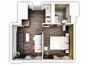 le plan appartement d39un studio 50 idees originales With comment meubler un petit studio 0 comment optimiser lespace dun petit logement d
