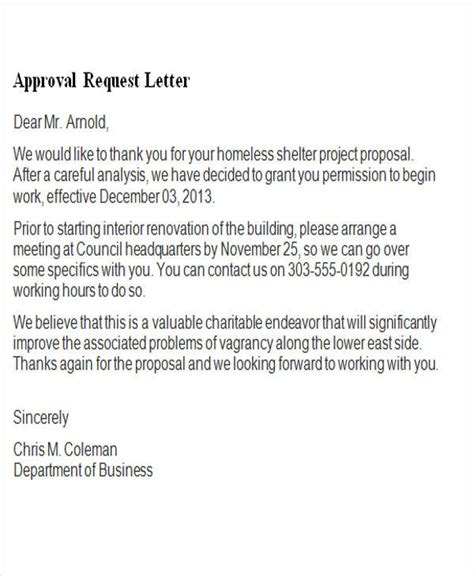 images  template letter  approval canbumnet