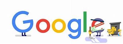 Google Doodle Thank Workers Sanitation Doodles Thanks