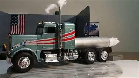 model semi trucks revell model jet semi truck custom with bonus build youtube