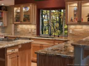 Kitchen Cabinet Refacing Denver by New Kitchen With Hickory Cabinets And Granite Countertops