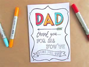 Father's Day Card Templates Free