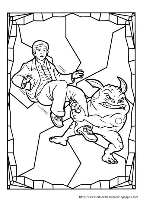 spiderwick coloring pages educational fun kids coloring pages  preschool skills worksheets