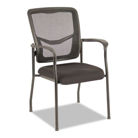 Alera Office Furniture Customer Service by Eikon Series Stacking Mesh Guest Chair Black Aleex4314