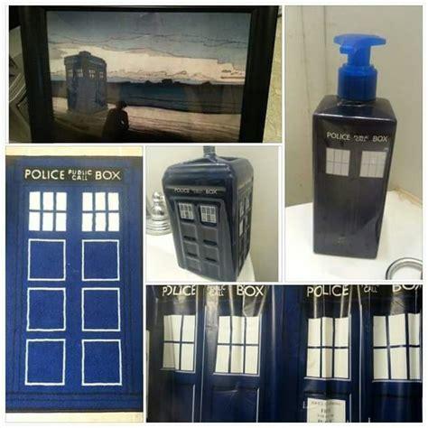 Doctor Who Bathroom Set  Doctor Who Amino