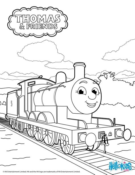 thomas  train coloring pages  print