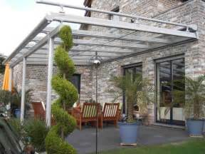 glasdach balkon terrassen glasdach