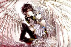 anime angel and demon love | Anime | Pinterest | Anime ...