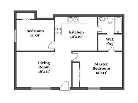 floor plans for small houses with 2 bedrooms bedroom house plans 2 bedroom house simple plan single