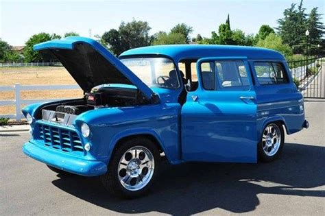 Buy Used 1956 Chevy Suburban Carryall Sedan Delivery Panel
