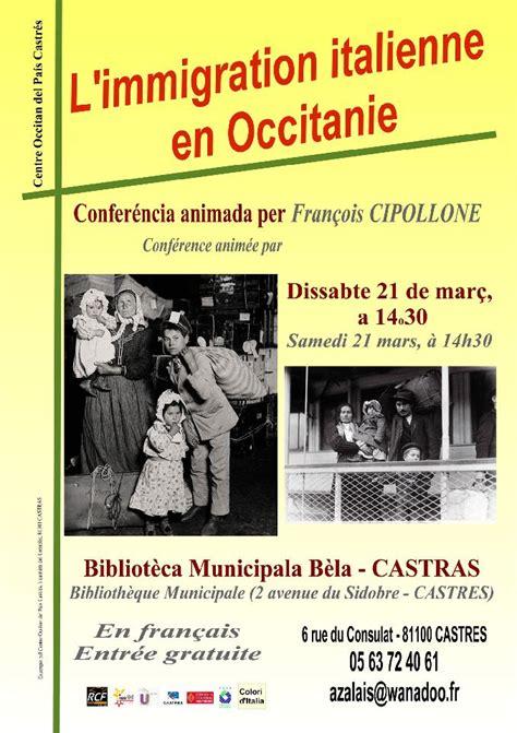 atelier de cuisine montpellier castres l immigration italienne en occitanie dans ton tarn
