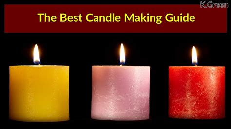 candle making guide  diy candles  home youtube
