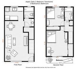 2 bedroom floor plan du apartments floor plans rates aspen gate apartments