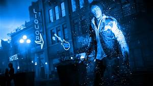 Infamous Second Son Blue Neon Wallpaper 21 by ...