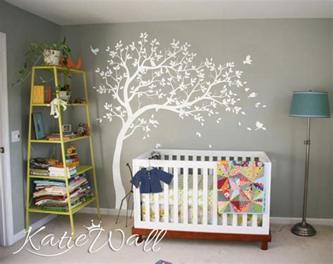 stickers arbre chambre fille unisex baby room decoration large customizable nursery