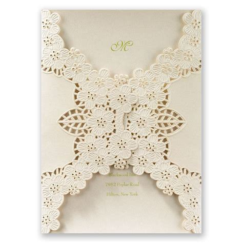 laser cut wedding invitations abundant beauty laser cut invitation invitations by