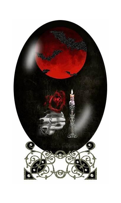 Glitter Graphics Gifs Fantasy Dark Vampire Kirmizi