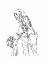 Bride Coloring Pages Printable Bright Choose Colors Favorite sketch template