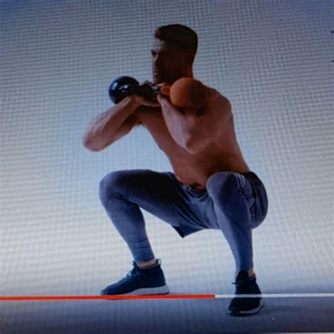 rack front squat kettlebell skimble exercise