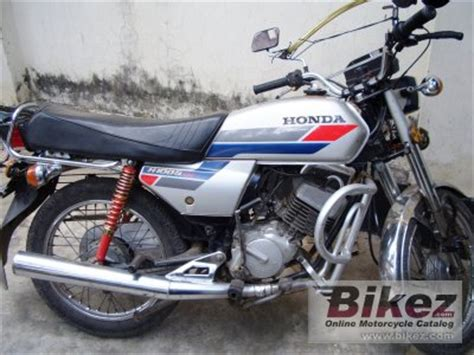 1986 honda h 100 s specifications and