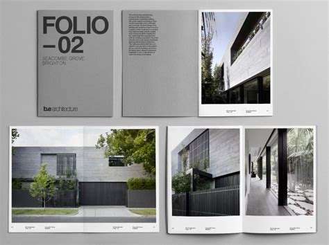 architecture portfolio document  latitude print